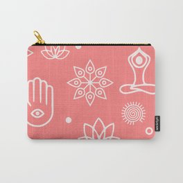 Yoga Icons Carry-All Pouch