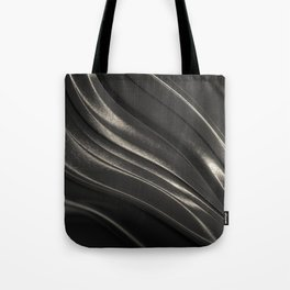 Black Steel Tote Bag