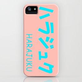 HARAJUKU Pink x Blue iPhone Case