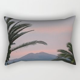 Tramonti vulcanici. Rectangular Pillow