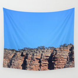 Outback Rocky Mountains Wall Tapestry