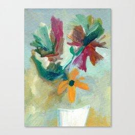 Dreamy Bouquet Canvas Print