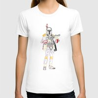 font T-shirts featuring Boba Font by Fabian Gonzalez