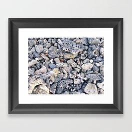 Gravels Framed Art Print