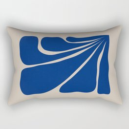 Six Leaves Plant Rectangular Pillow