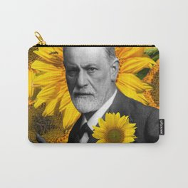 Freud n Sunflowers Carry-All Pouch