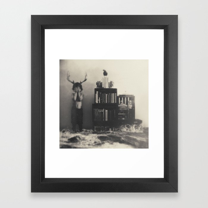 The Adventures First Framed Art Print