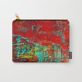 Aztec Fossil Painting Series Carry-All Pouch