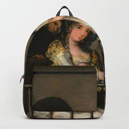 "Francisco Goya ""Majas on a Balcony"" Backpack"