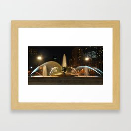Logan Square Framed Art Print
