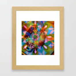 Abstract by Leslie Harlow Framed Art Print