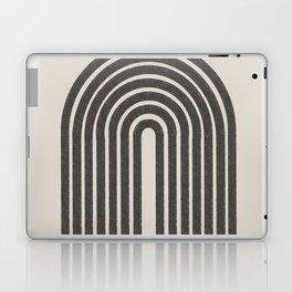 Rainbow Art, Geometric Mid Century, Laptop & iPad Skin