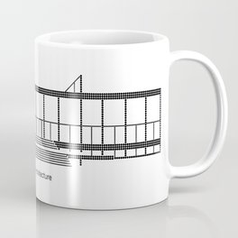 Mies - A is for Architecture Coffee Mug