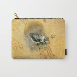 Shamanic Wolves Carry-All Pouch