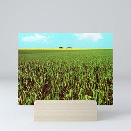 High Plains Crop Mini Art Print