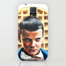 Eleven from Stranger Things Galaxy S5 Slim Case