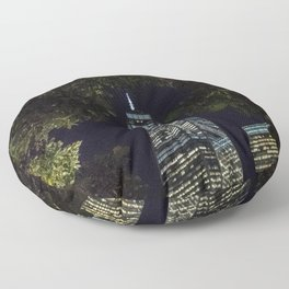 Freedom through the trees - NYC Floor Pillow