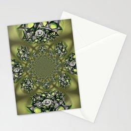 Chai Mandala - Green Mist Stationery Cards