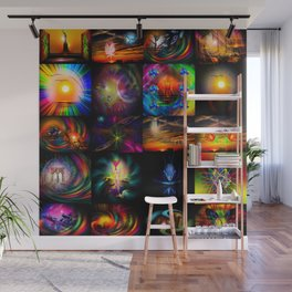 Collected Works Wall Mural