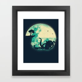 The Big One Framed Art Print
