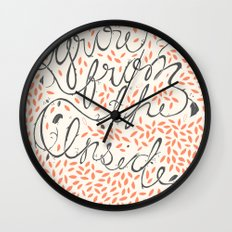 Grow From The Inside Wall Clock