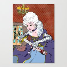 Jeannette-Marie, Zombie Slayer of Marseille Canvas Print
