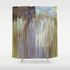 Icy Blast Shower Curtain