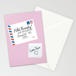 To All The Boys I've Loved Before, Peter Kavinsky and Lara Jean Letter Stationery Cards