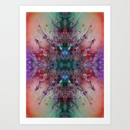 Extraterrestrial Nature #2 Art Print