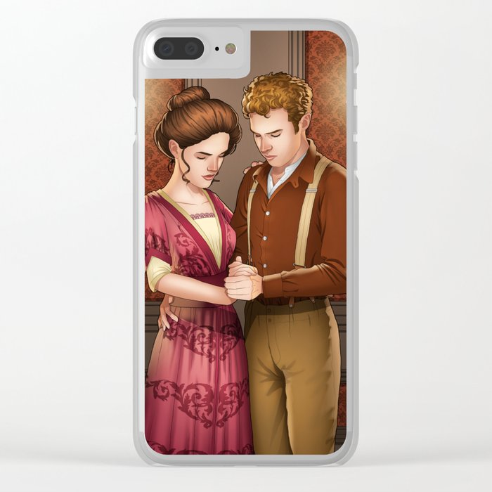 Edwardian Fitzsimmons Clear iPhone Case