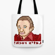 !kcor s'teL (Man From Another Place Pixel Art) Tote Bag