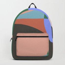 Travel Mug Pattern Backpack