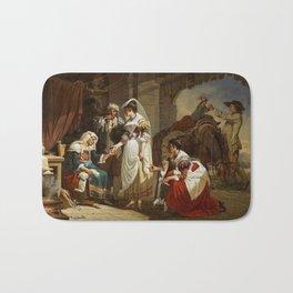 Jacques Sablet - La Diseuse de Bonne Aventure (The Fortune Teller) Bath Mat