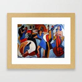 One Last Tango Framed Art Print