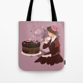 Coffee Fig Cake  Tote Bag