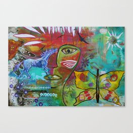 Medicine Warrior Canvas Print