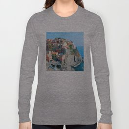 Italy. Cinque Terre - Cliffside Long Sleeve T-shirt