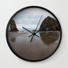 Cannon Beach Wall Clock