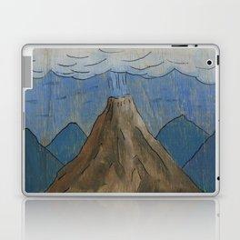 Volcano at night Laptop & iPad Skin