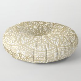 Modern Mandala Design Floor Pillow