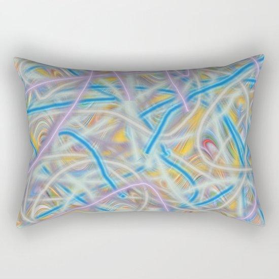 Satin Waves Rectangular Pillow