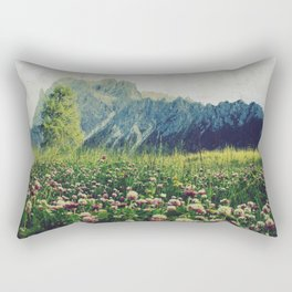 Spring Mountains Rectangular Pillow