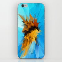 butterfly iPhone & iPod Skins featuring Butterfly by Paul Kimble