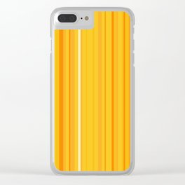 Stripe obsession color mode #8 Clear iPhone Case