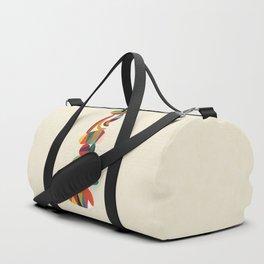 Totem - balanced pebbles Duffle Bag