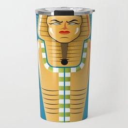 Egyptian Mummy Tomb Travel Mug