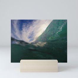 Deep Blue Shorebreak Mini Art Print