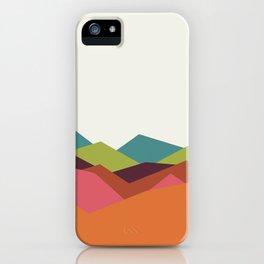 Chevron Mountain iPhone Case