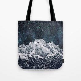 Constellations over the Mountain Tote Bag
