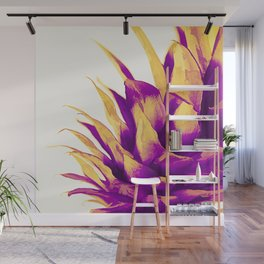 Pineapple Color Pop Wall Mural